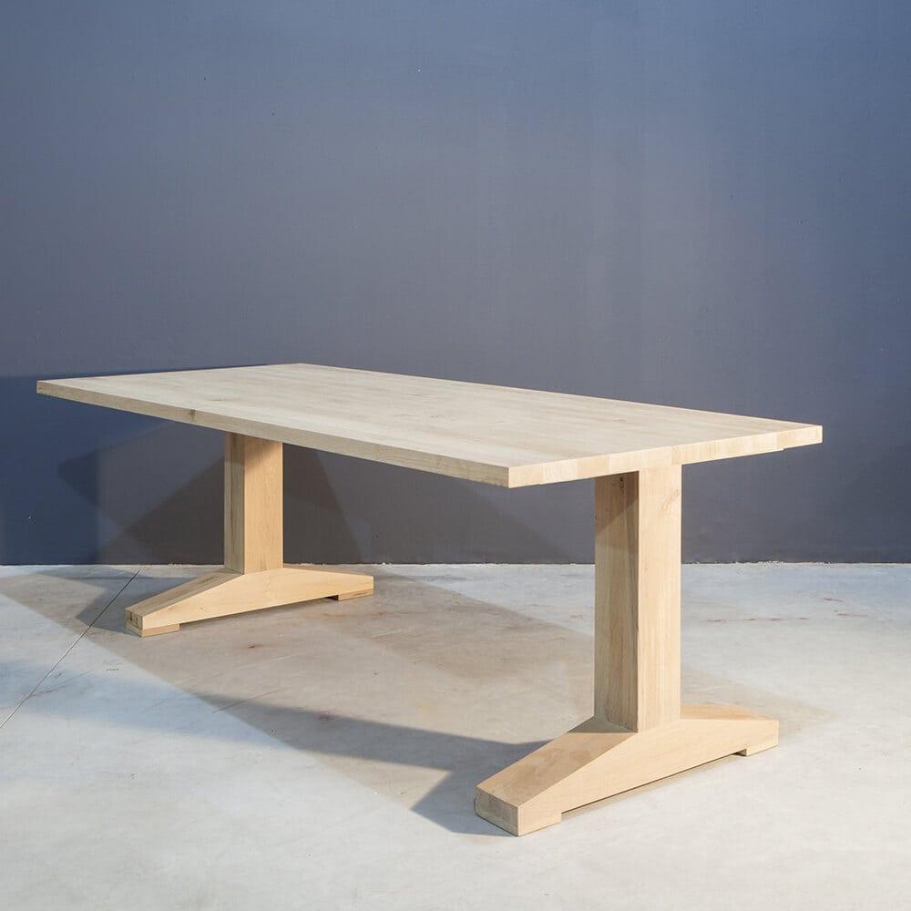Landelijke eettafel met t poot concept table for Landelijke eettafel