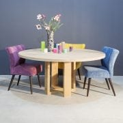 Massief eiken ronde eettafel | Concept Table