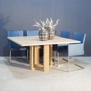 Massief eiken vierkante eettafel | Concept Table