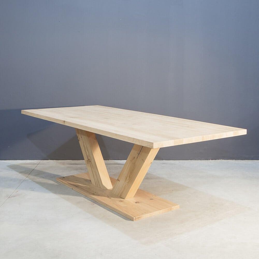 Eettafel Op 1 Poot.Stoere Eettafel Met V Poot Concept Table